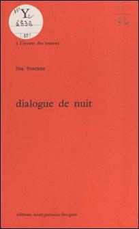 Dialogue de nuit-Lisa Boscane