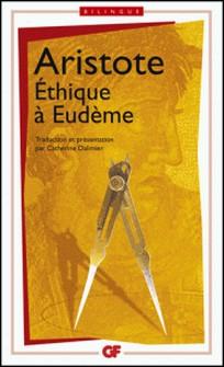 Ethique à Eudème - Edition bilingue français-grec-Aristote