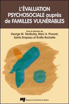 L'évaluation psychosociale auprès de familles vulnérables-George Tarabulsy , Marc A. Provost , Sylvie Drapeau , Emilie Rochette