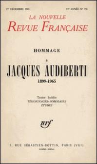 La Nouvelle Revue Française N° 156, Décembre 196-Gallimard