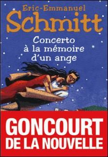 Concerto à la mémoire d'un ange-Eric-Emmanuel Schmitt , Eric-Emmanuel Schmitt