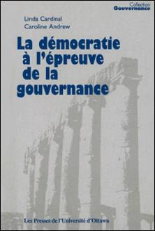 Collection Gouvernance-Linda Cardinal , Caroline Andrew