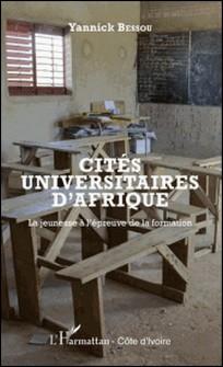 Cités universitaires d'Afrique - La jeunesse à l'épreuve de la formation-Yannick Bessou