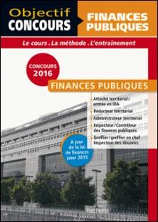 Finances Publiques Catégorie A et B 2015/2016-Collectif