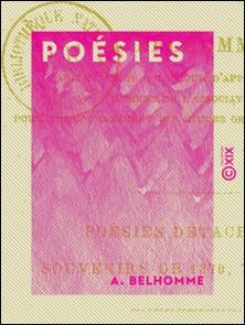 Poésies-A. Belhomme