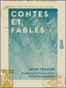Contes et Fables-Léon Tolstoï , Il'â Danilovic Gal'perin-Kaminskij