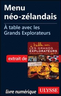A table avec les grands explorateurs - Menu néo-zélandais-Andrée Lapointe