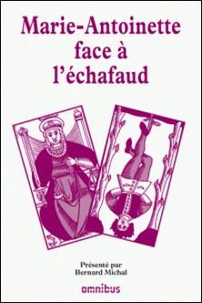 Les grands procès de l'Histoire - Marie-Antoinette face à l'échafaud-Bernard Michal