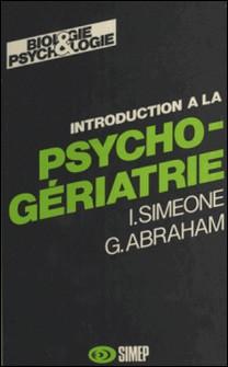 INTRODUCTION A LA PSYCHOGERIATRIE-Simeone