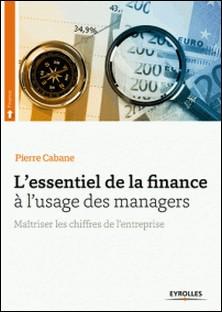L'essentiel de la finance à l'usage des managers - Maîtriser les chiffres de l'entreprise-Pierre Cabane