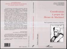 Considérations à propos des discours de Machiavel sur la première décade de Tite-Live-Francesco Guicciardini