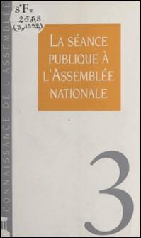 La séance publique à l'Assemblée nationale-Collectif