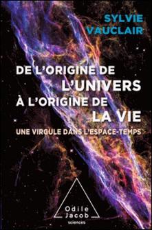 De l'origine de l'Univers à l'origine de la vie - une virgule dans l'espace-temps-Sylvie Vauclair
