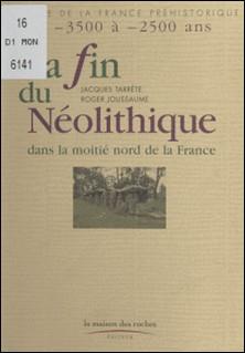 La fin du néolithique dans la moitié nord de la France - De -35 000 à -2 500 ans-Jacques Tarrête , Roger Joussaume