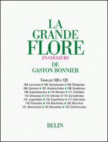 La grande Flore (Volume 16) - Famille 103 à 123 - Famille 103 à 123-Gaston Bonnier