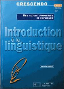 Introduction à la linguistique-Nathalie Garric