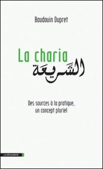 La Charia - Des sources à la pratique, un concept pluriel-Baudouin Dupret