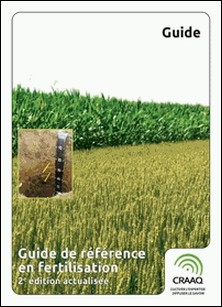 Guide de référence en fertilisation, 2e édition actualisée-Suzanne Allaire , Denis Angers , Abdo Badra , Martin A. Bolinder , Yvan Boucher