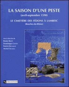 La saison d'une peste (avril-septembre 1590) - Le cimetière des Fédons à Lambesc (Bouches-du-Rhône)-Bruno Bizot , Dominique Castex , Patrick Reynaud , Michel Signoli