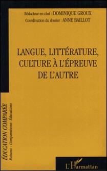 Raisons, comparaisons, éducations Tome-Dominique Groux , Anne Baillot