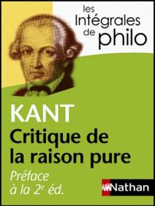 Préface à la 2e édition de la Critique de la raison pure-Emmanuel Kant