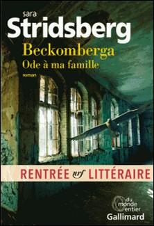Beckomberga - Ode à ma famille-Sara Stridsberg