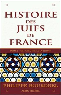 Histoire des Juifs de France - tome 1 - Des origines à la Shoah-Philippe Bourdrel