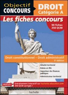 Fiches Droit constitutionnel et droit administratif - Cat A-Guillaume Merland