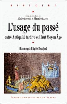 L'usage du passé entre Antiquité tardive et haut Moyen Age - Hommage à Brigitte Beaujard-Claire Sotinel , Maurice Sartre , Bruno Judic , Michel Fauquier