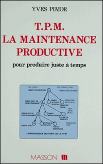 TPM : La maintenance productive pour produire juste à temps-Yves Pimor