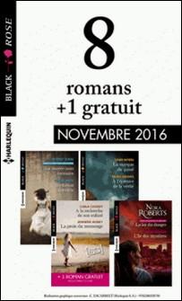 8 romans Black Rose + 1 réédité (nº406 à 409 - Novembre 2016)-Collectif
