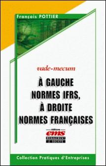 A gauche normes IFRS, à droite normes françaises-François Pottier