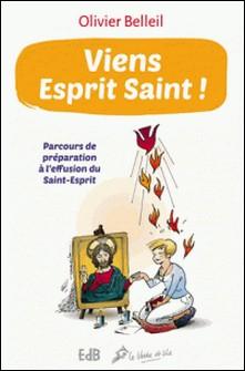 Viens esprit sain ! - Parcours de préparation à l'effusion du Saint-Esprit-Olivier Belleil
