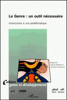 Cahiers genre et développement N° 1-Jeanne Bisilliat