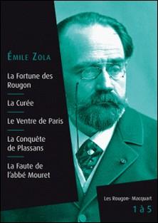 Les Rougon-Macquart, livres 1 à 5-Emile Zola