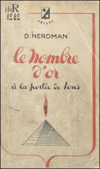 Le nombre d'or à la portée de tous-Dom Neroman