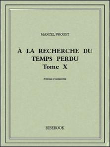 À la recherche du temps perdu X-Marcel Proust