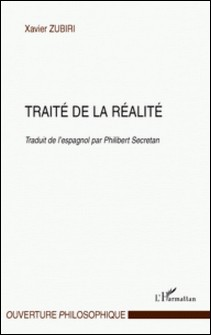 Traité de la réalité-Xavier Zubiri
