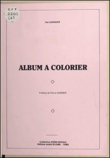 Album à colorier-Ilse Garnier