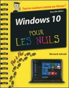 Windows 10 pas à pas pour les nuls-Bernard Jolivalt