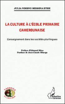 La culture à l'école primaire Camerounaise-Julia Ndibnu Messina
