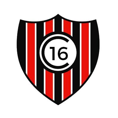 Escudo Club 16 de Agosto (Caazapá)