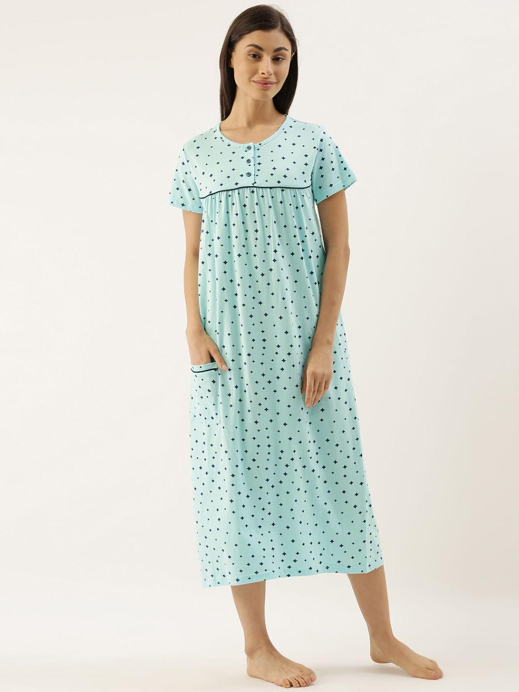 Slumber Jill Sky Stars Night Dress