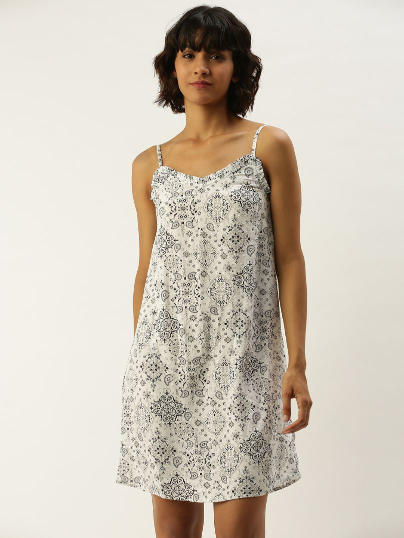 Slumber Jill Clementine-Grey Dress
