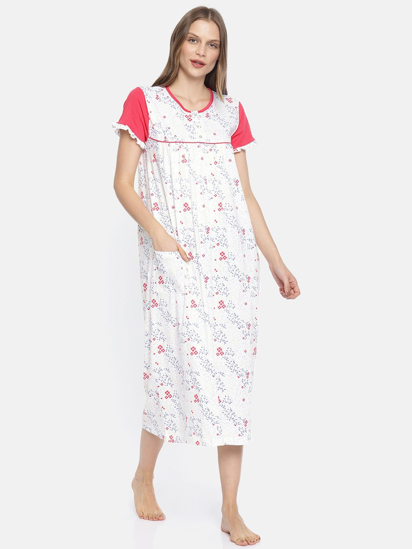 Slumber Jill Spring Blossom AOP Night Dress