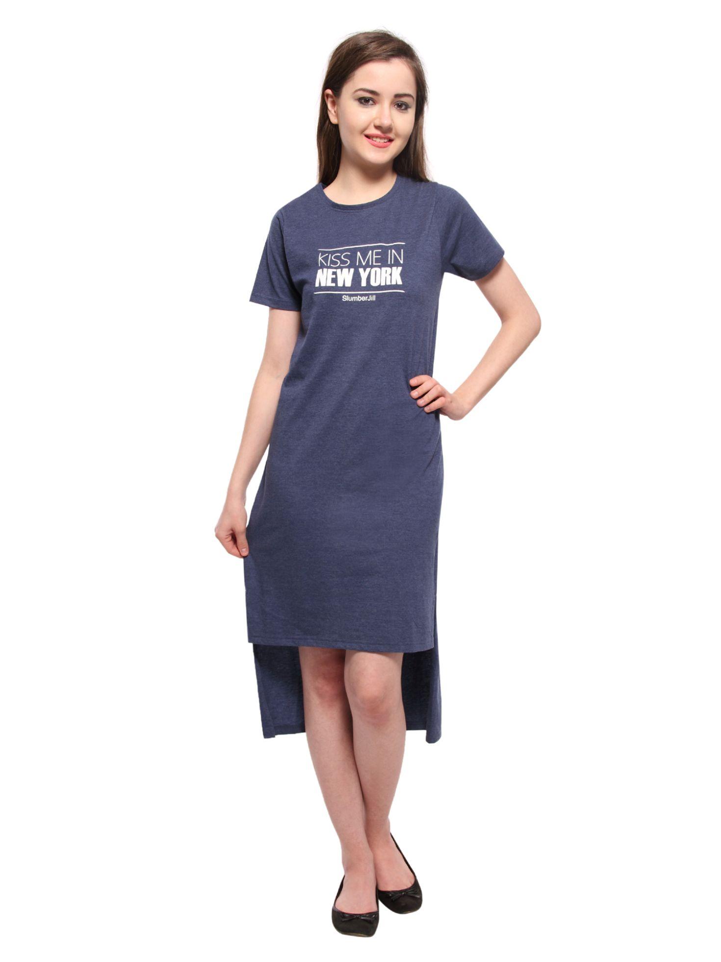 Slumber Jill Women's Nighty (Blue)