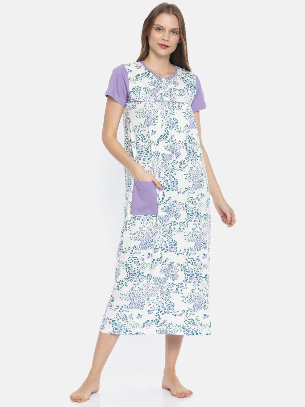 Slumber Jill Jungle AOP Night Dress
