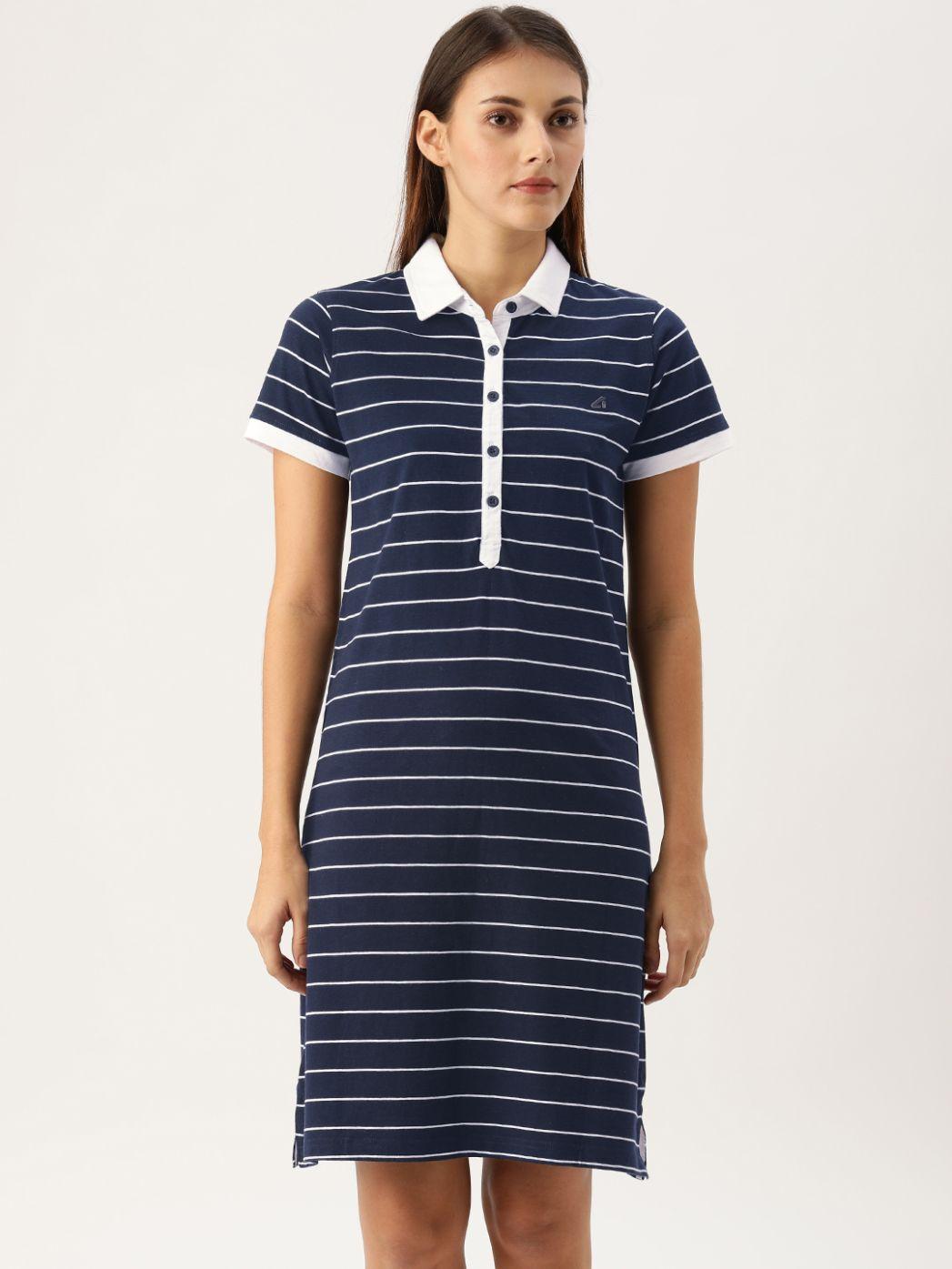 Mariner Navy / White Polo Dress