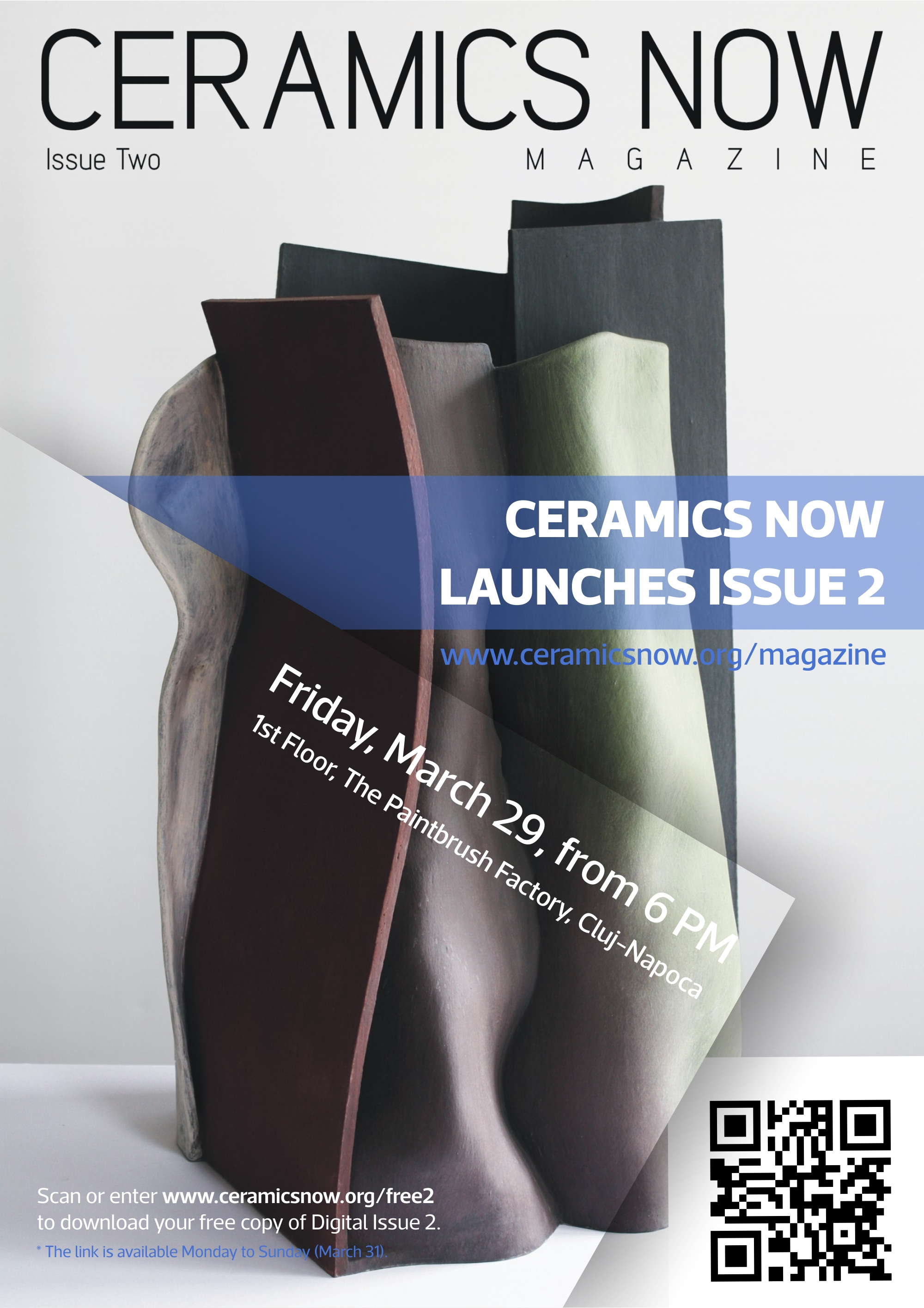 Ceramics Now Magazine launches Issue 2