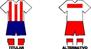 Uniforme Selección Juandemenina de Fútbol